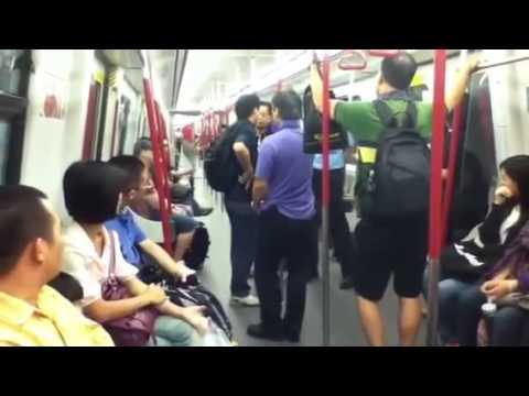 MTR大鬧一番 argue fight