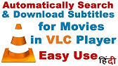 How to Download Subtitles Automatically in VLC - YouTube