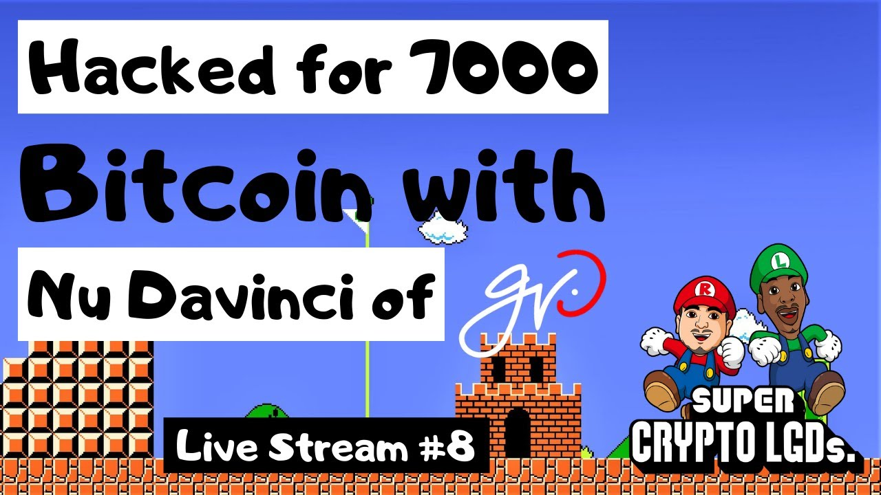 Crypto Exchange Hacked for 7000 BTC (IN MINUTES!) with Nu Davinci of GVO -  Crypto Chat & News Live