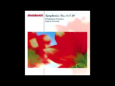 SHOSTAKOVICH: Symphony No. 10 in E minor op. 93 / Ormandy·Philadelphia Orchestra