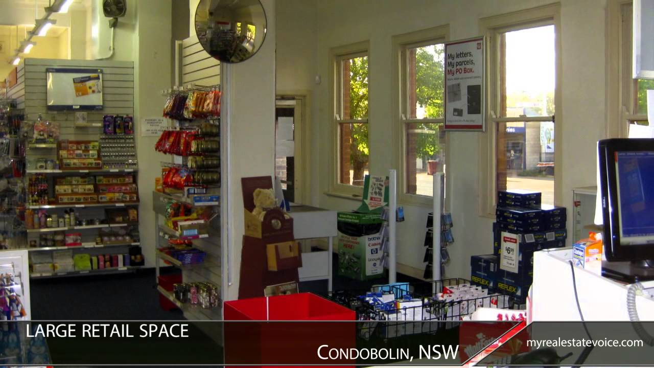 post business office. Freehold Post Office + Residence Business For Sale - Condobolin, NSW