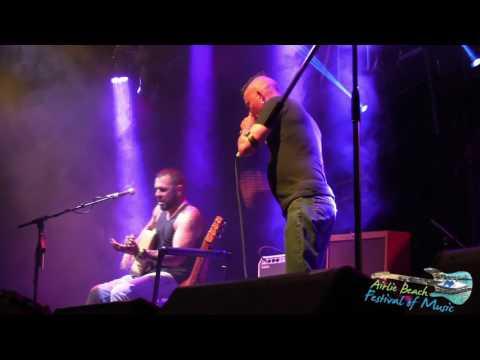 Mason Rack with Bryce Wearne (HillBilly Goats) Airlie Beach Music Festival