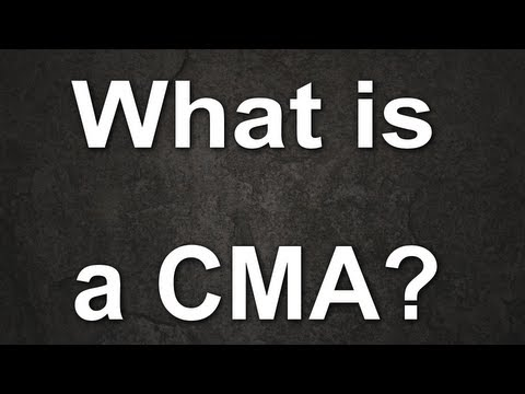 What is a CMA? - Understanding Home Values from YouTube · Duration:  3 minutes 31 seconds