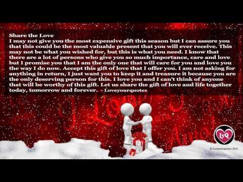 Romantic love quotes - cute romantic love quotes and sayings New for Christmas 2016