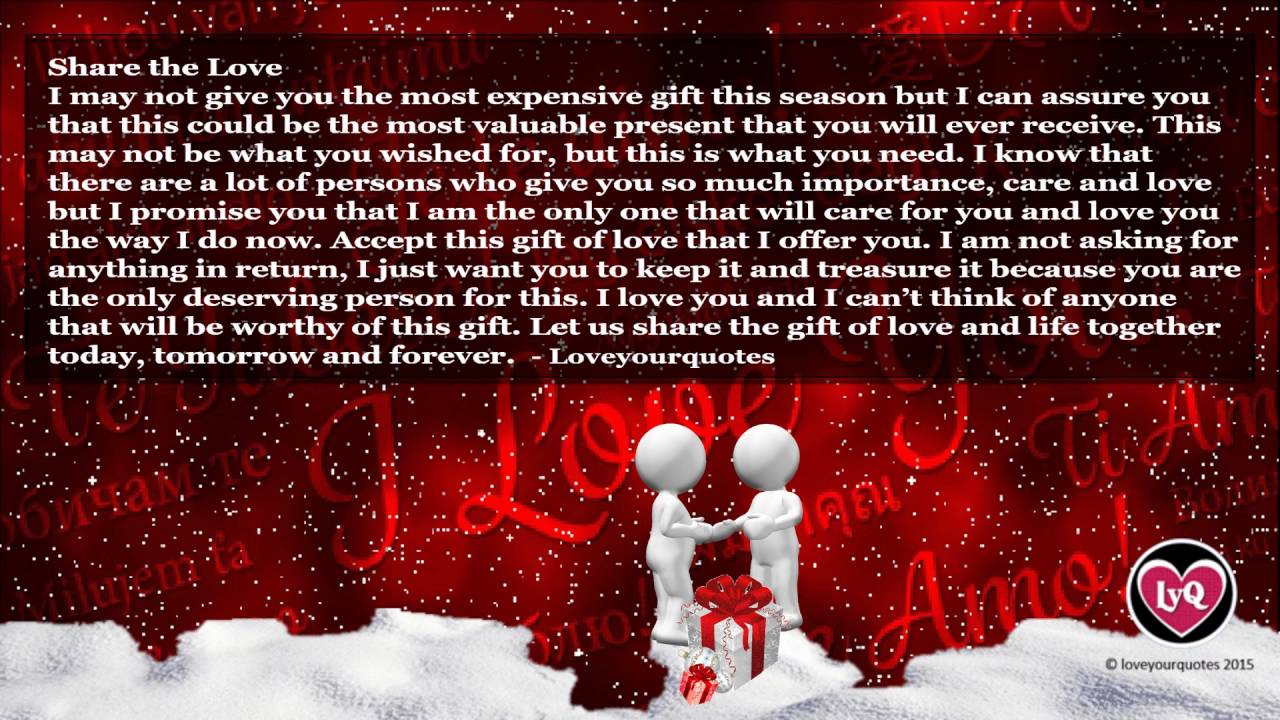 romantic love quotes cute romantic love quotes and sayings new for christmas 2016 youtube