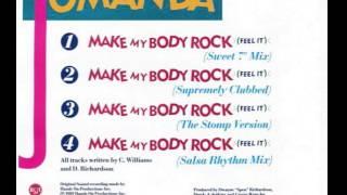 """Jomanda - Make My Body Rock (Sweet 7"""" Mix)"""