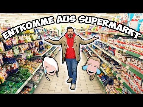 AUS SUPERMARKT ENTKOMMEN!