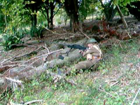 Boys Anti-Tank Rifle Firing
