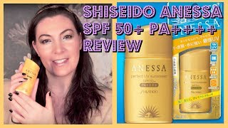 Shiseido Anessa Perfect UV SPF 50+ PA++++ Review