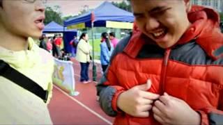 教院學生與天保民學校學生攜手參與2012渣打馬拉松