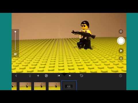 Урок  по Лего анимации. 1 часть Стрельба!
