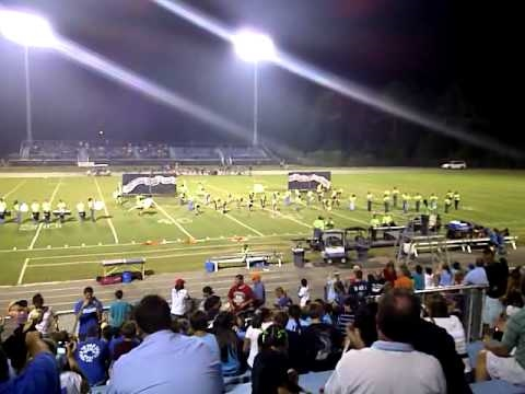 2010 St James High School Marching Band 1st Show