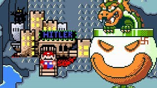 SMW: World War II Edition (Hitler's Edumacation Version) | Super Mario World ROM Hack (スーパーマリオワールド)