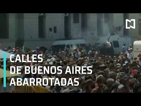 Así despiden a Maradona en Argentina - Por las Mañanas