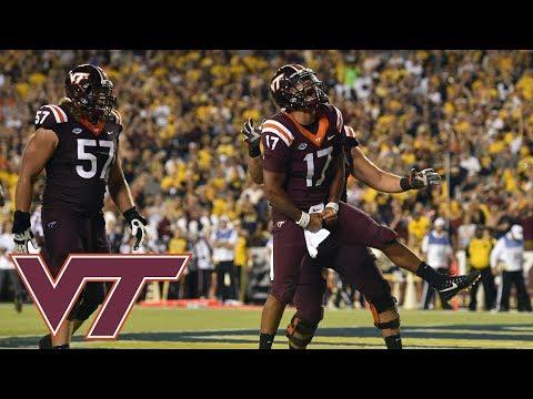 Virginia Tech QB Josh Jackson Highlights vs. West Virginia (2017)