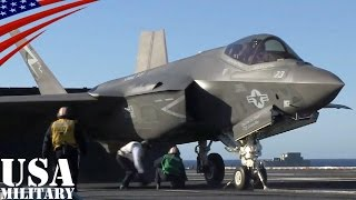 F-35C ライトニングII (艦載型)・初の空母カタパルト発艦テスト