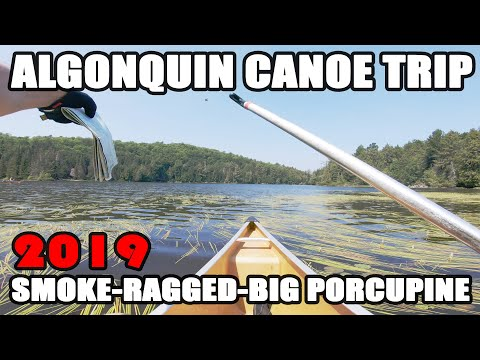 Algonquin Canoe & Camping Trip - Smoke To Ragged To Big Porcupine Lakes 2019