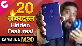 Top 20 Best Samsung Galaxy M20 Hidden Features, Tips and Tricks! 🔥 (Hindi)