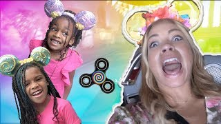 Magic Fidget Hypnotizes Mommy to Disneyland