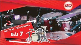 Dạy học trống Jazz/ Drums: Điệu Rock Attractive | Trung tâm Nghệ thuật Adam