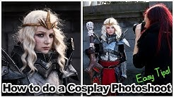 How To Do A Cosplay Photoshoot | Basic Tips For Photographers