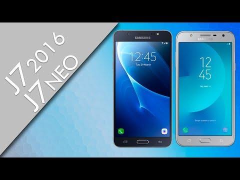 Galaxy J7 2016 vs Galaxy J7 Neo - Comparativa