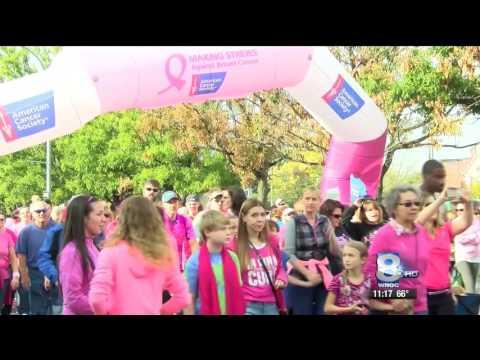 10-16-16 WROC TV- Breast Cancer Walk