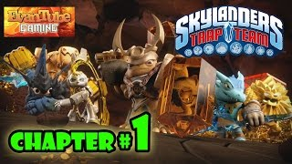 Let's Play Skylanders TRAP TEAM - Chapter 1 INTRO / SODA SPRINGS