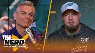 Lane Johnson talks Eagles