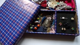 Create A Stunning Cardboard Jewelry Organizer - Diy Home - Guidecentral