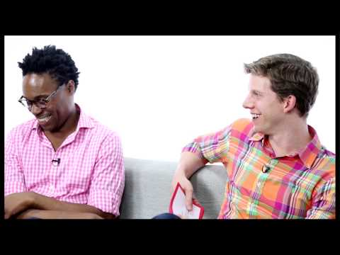 """""""Kinky Boots"""" Stars Billy Porter & Stark Sands Have a Ball Answering Your Questions"""
