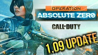 "NEW OPERATION: ABSOLUTE ZERO Gameplay! (NEW ""ZERO"" DLC Specialist) Massive 1.09 Update Black Ops 4"