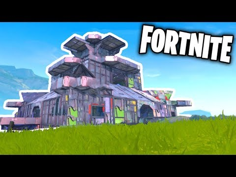 Best Base Building Idea In Fortnite Fortnite Live
