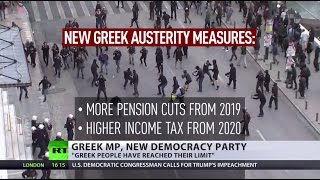 Anti-austerity strikes: Greeks struggle against new bailout package