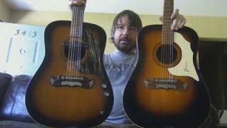1960s Framus Texan 6 & 12 String Guitars DEMO
