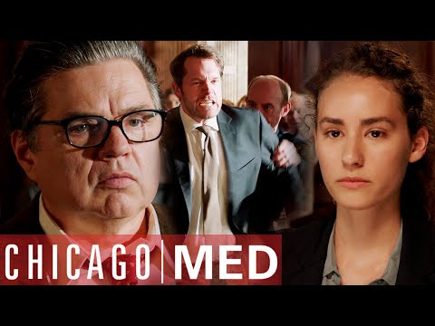 Dr Charles Pleads For His Shooter's Insanity | Chicago Med