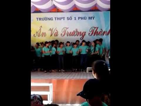 Lễ tri ân và trưởng thành trường THPT SỐ 1 PHÙ MỸ( lớp 12A6)