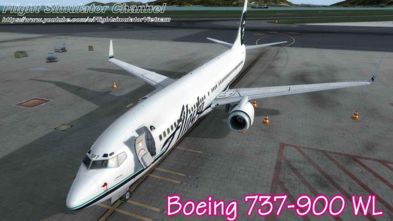 Khởi động máy bay Boeing 737 900 + giải thích