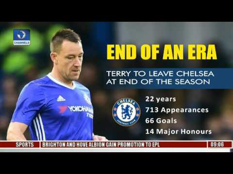 Sports This Morning: John Terry To Leave Chelsea At The End Of The Season