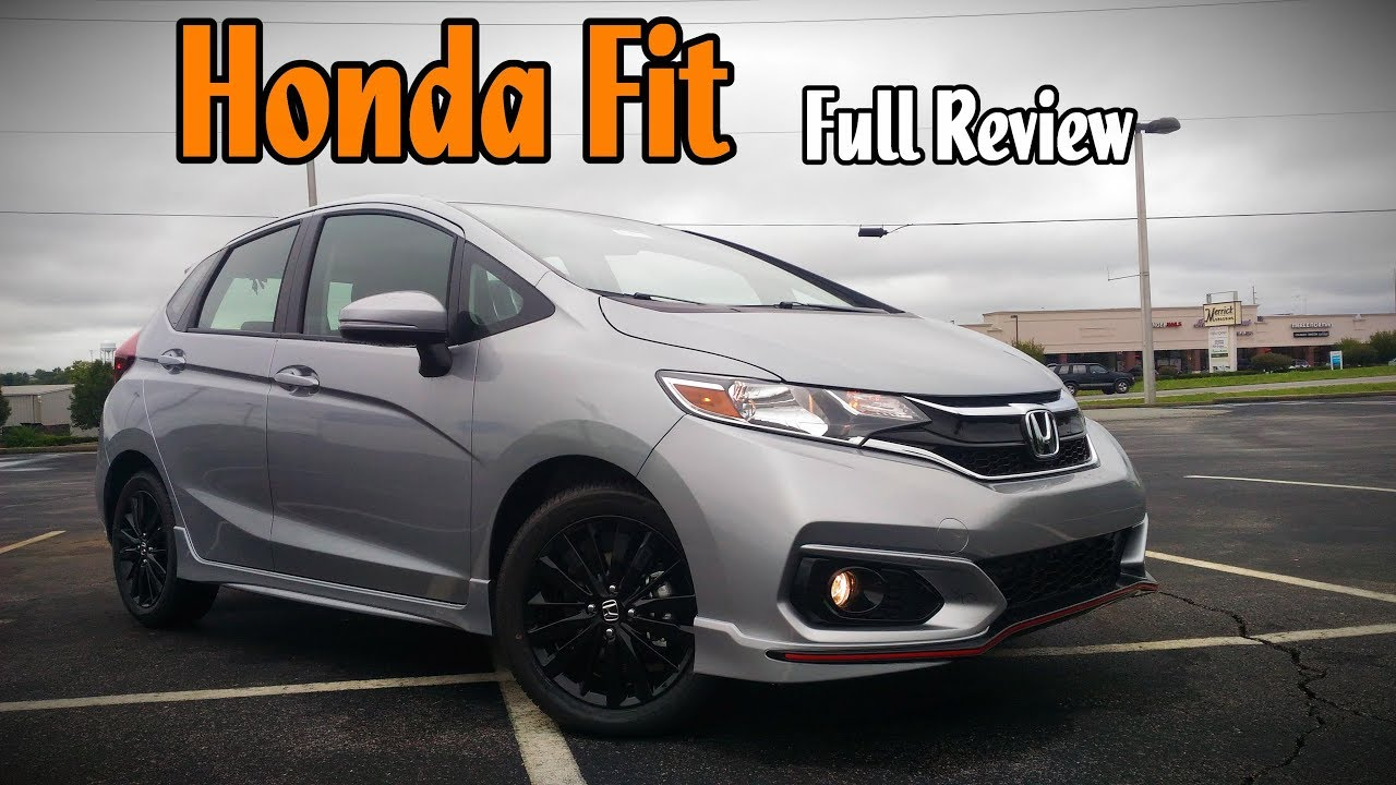 2018 honda fit full review ex l ex sport lx youtube. Black Bedroom Furniture Sets. Home Design Ideas