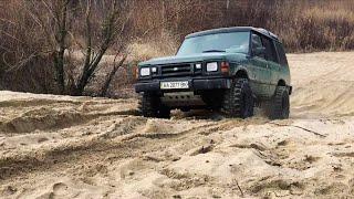 Тест полного привода land rover discovery 1 на бездорожье