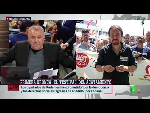 """Iglesias: """"Abascal hizo muy bien en acatar por España, yo también lo hice"""""""