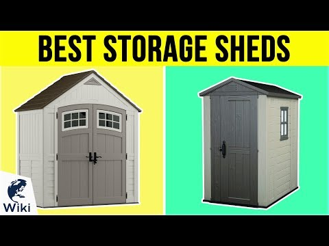 10 Best Storage Sheds 2019