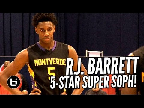 R.J. Barrett Jr., 5-Star Super Soph Takes Over Chicago Elite Classic!