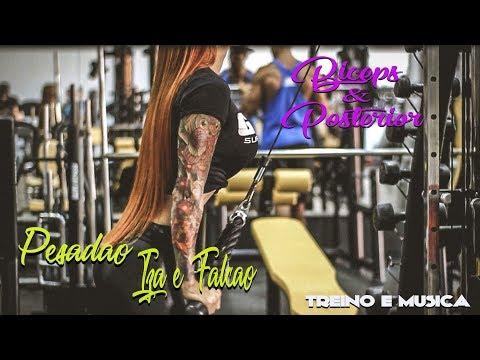 Female Biceps and Triceps Workout - IZA -  Pesadão (Participação especial Marcelo Falcão)