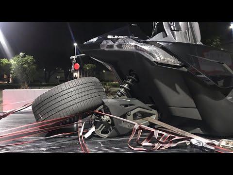 "FIRST LOOK Wheel ""Falls Off"" Polaris Slingshot Part 2"