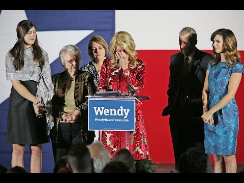 Wendy Davis Concedes Governor's Race To Greg Abbott