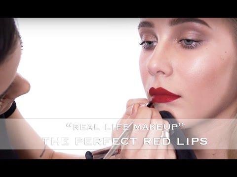 Real Life Makeup | Get The Perfect Red Lips