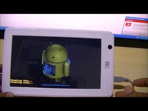 Android Flashing steps for all HCL Tablet