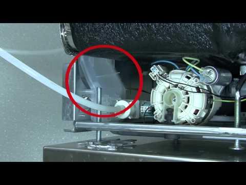 ASKO Dishwasher Service Series: Removing water in the basepan